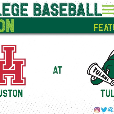 Tulane Holds Onto First Place In the American With Series Win Against Houston