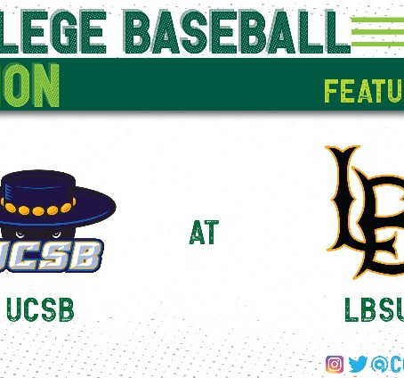 UCSB and LBSU Split Four Games at Long Beach