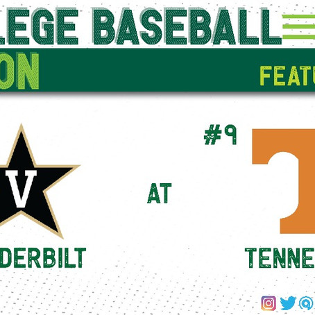 #2 Vanderbilt Looks to Rebound in Knoxville Against In-State Rival, #9 Tennessee
