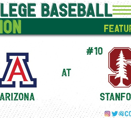 Stanford Surges Into Top Ten With Series Win Over Arizona