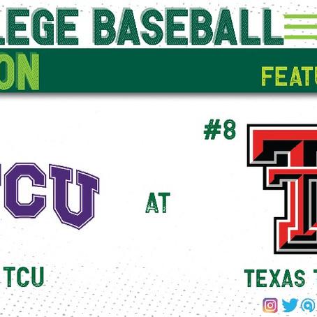 Texas Tech Bounces Back, Wins Series Versus TCU