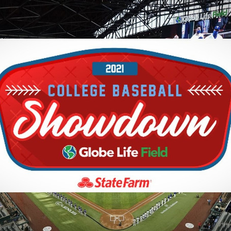 College Baseball Showdown at Globe Life Field Will Open 2021 Season With a Bang