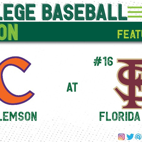Florida State Fends Off Clemson For ACC Series Win