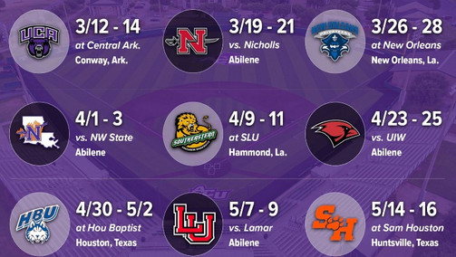 Southland Conference Moves Forward With Usual 30-Game Conference Schedule