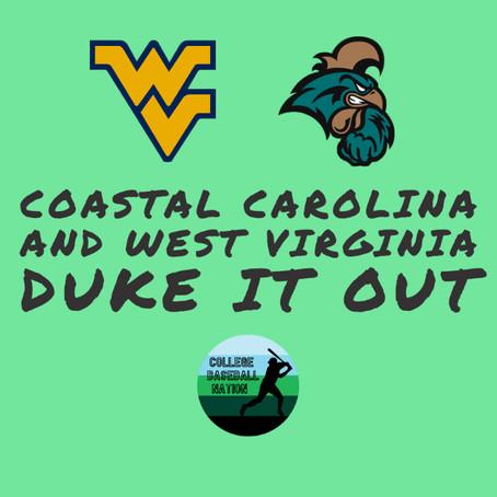 Coastal Carolina and West Virginia Duke It Out at CCU Tournament