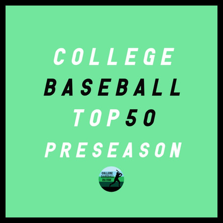 RANKINGS: Preseason College Baseball Top 50