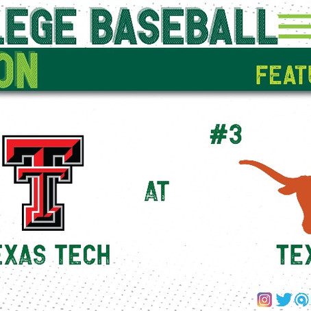 Floundering Texas Tech Travels to Austin to Face #3 Texas