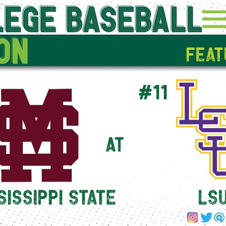 Mississippi State Pitching Staff Too Much for LSU in Baton Rouge