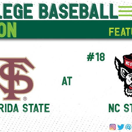 NC State Claims Fourth Straight Series With Win Against Florida State
