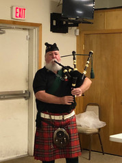 The Bag Piper Mike Foley