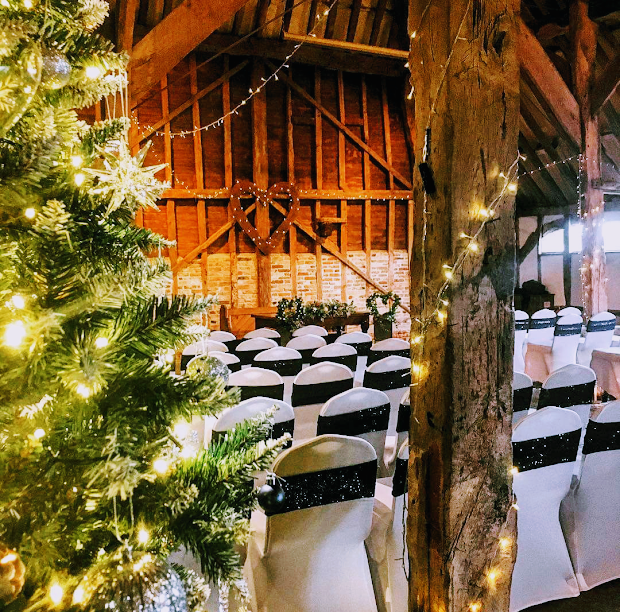 Christmas at the barn