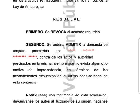 Resolución de Jucio de Amparo en Materia Migratoria