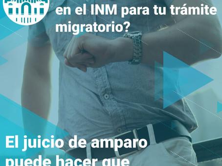 Resolución de trámites migratorios ne México por medio del juicio de amparo