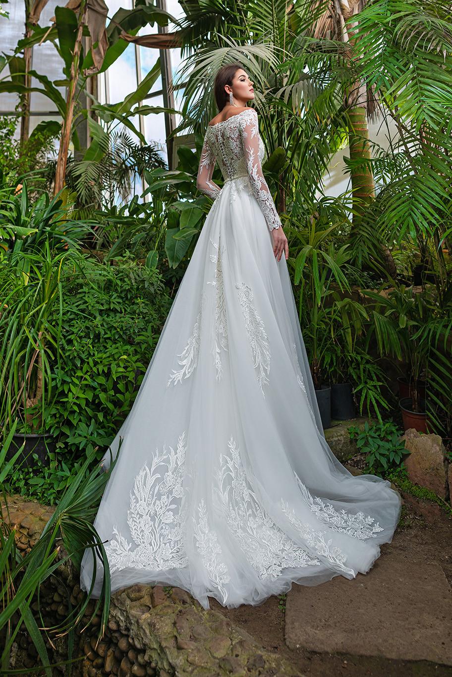 Felicita - A-line wedding dress from bridal designer Annette Moretti by Hadassa