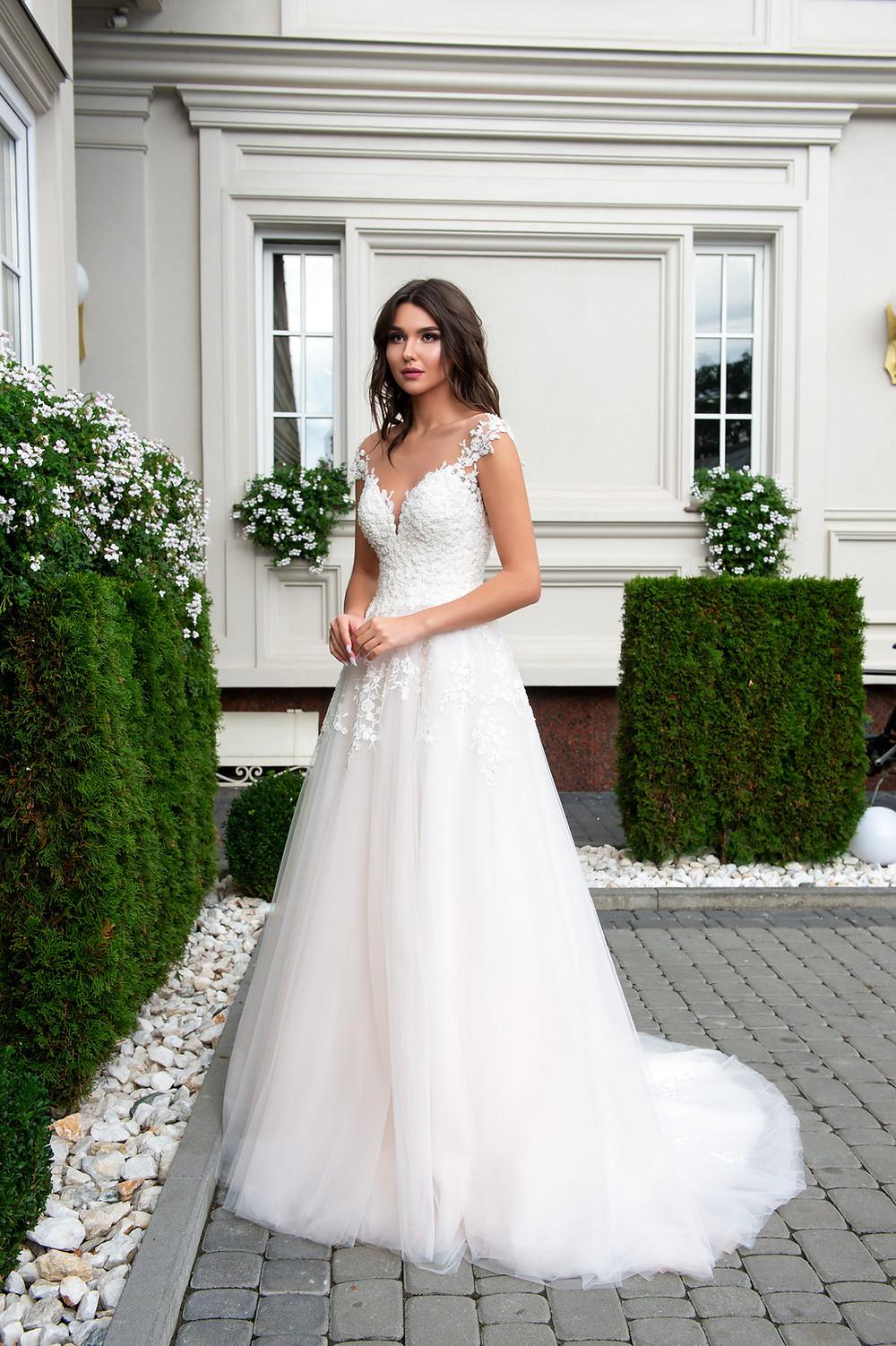 A-line Bridal gown Fiora by Hadassa