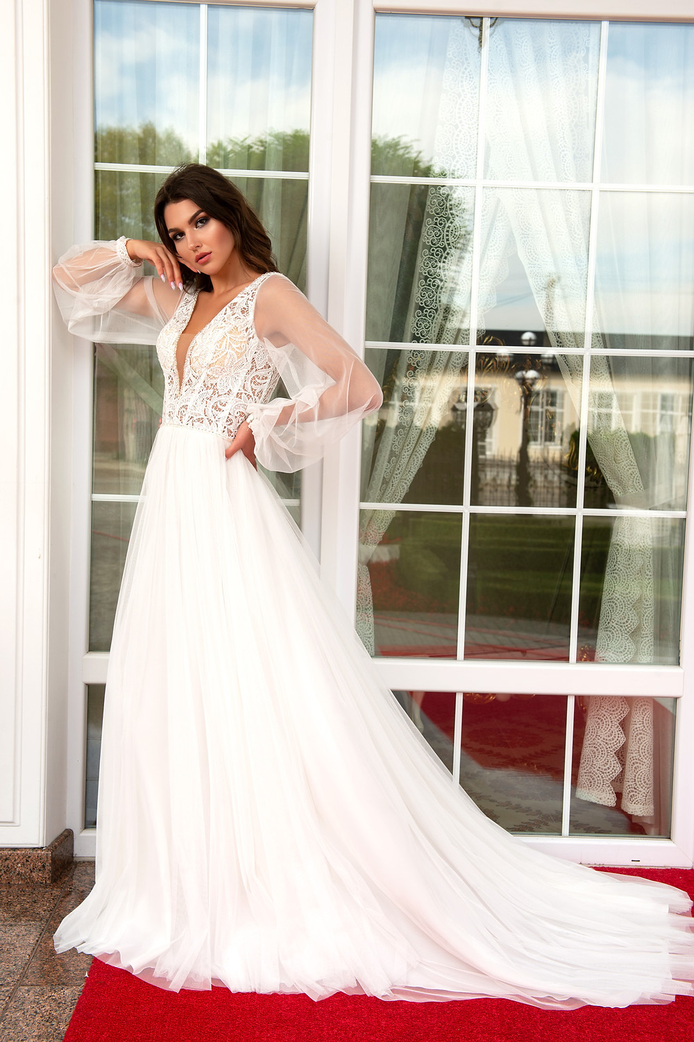 A-line Bridal gown Valentina from collection The Charm by Hadassa