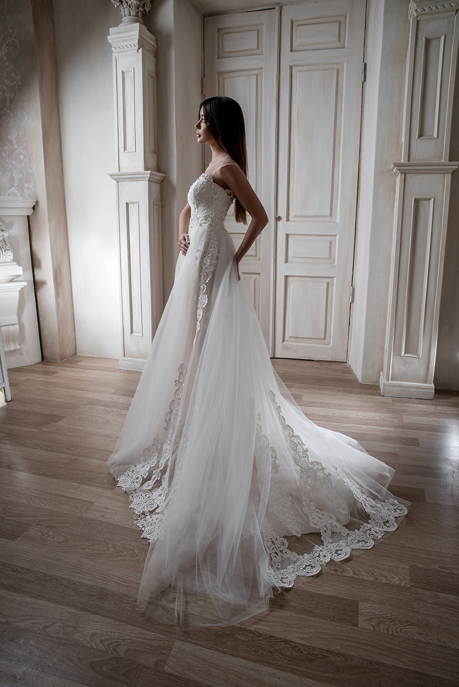 A-line wedding dress Mirea from collection Il mio Tesoro