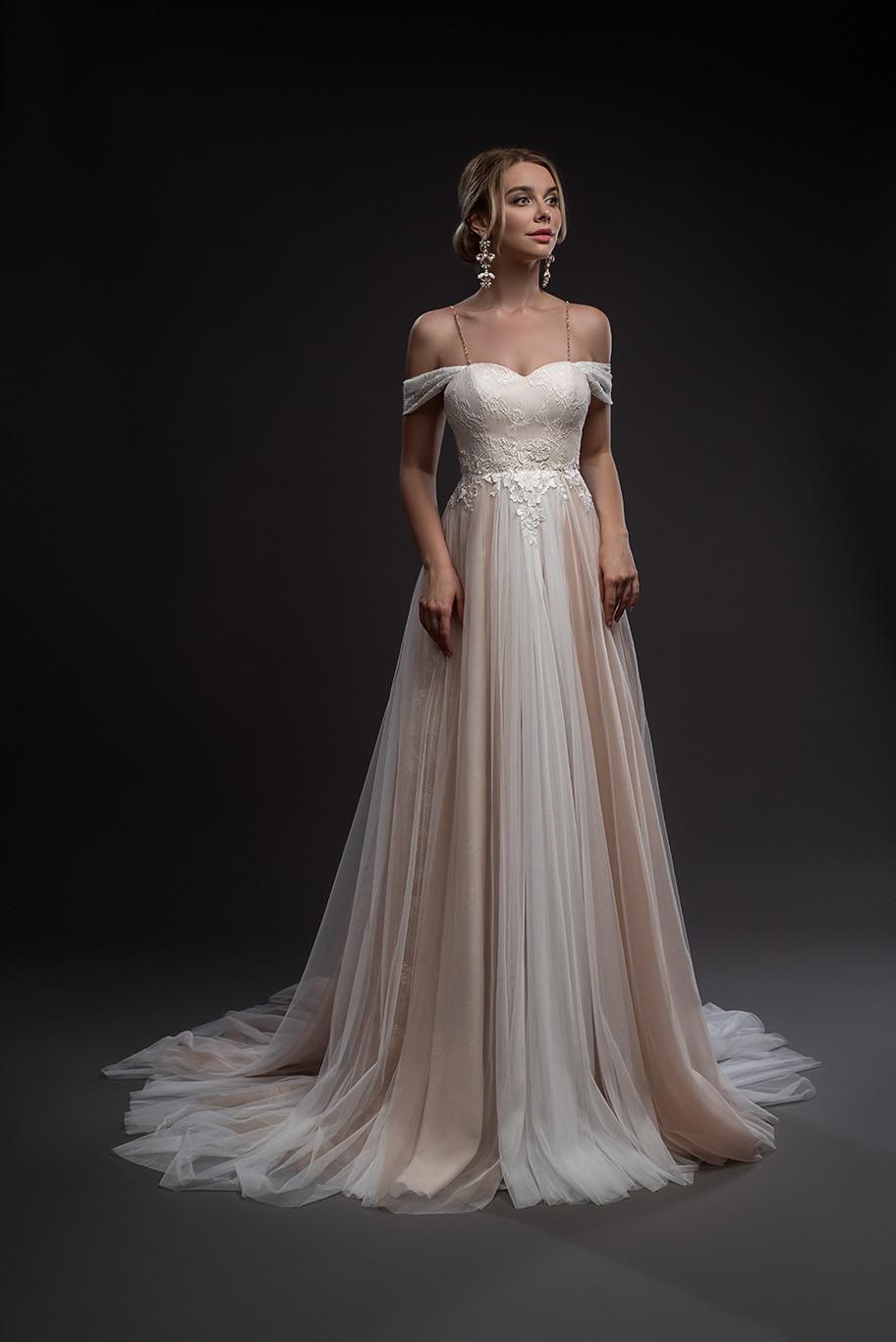 A-line wedding dress Desire from collection Hadassa Light