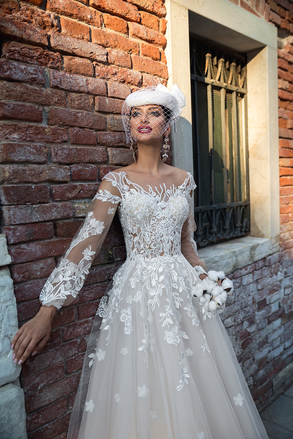 A-line wedding dress Modesta by Hadassa from collection MilanoLecce