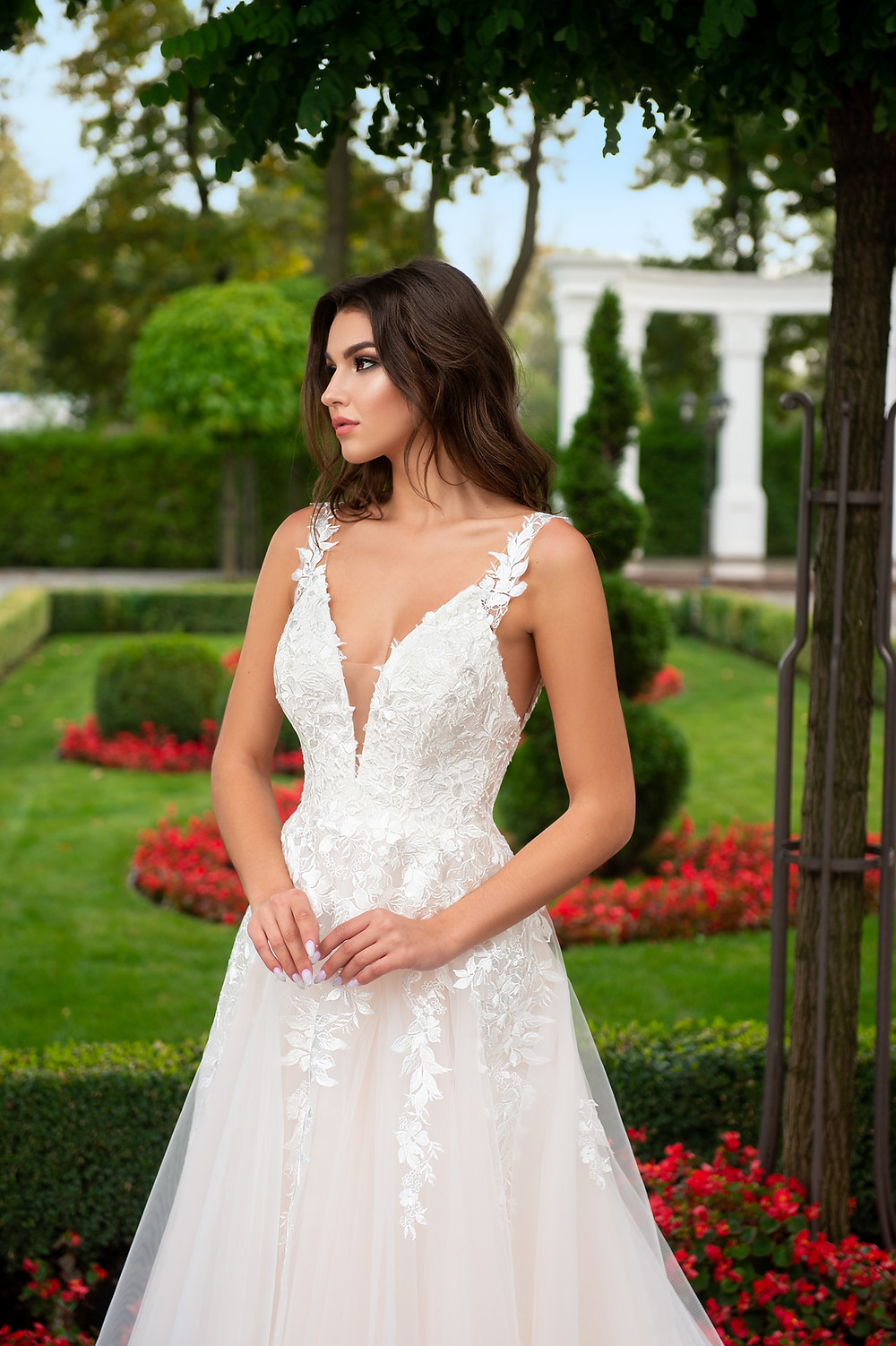 A-line wedding dress Polina collection The Charm by Hadassa