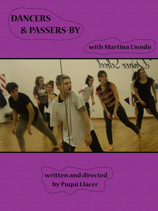 Dancers and passers-by