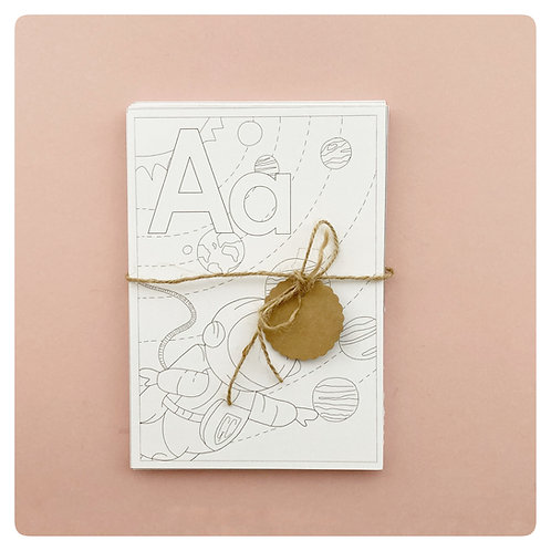 Alphabet  Colouring cards Wholesale