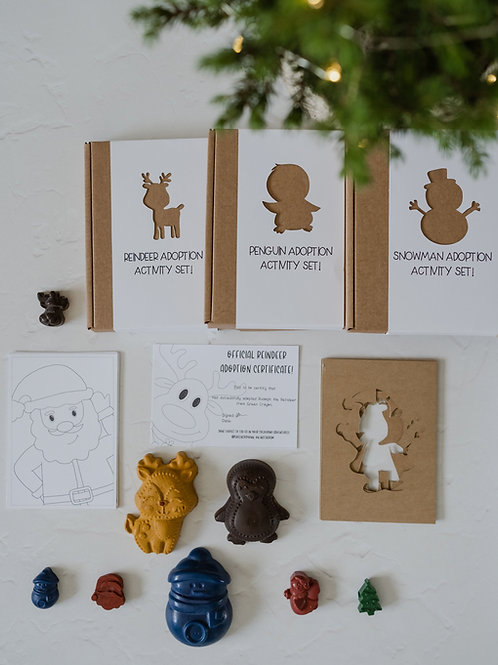 Christmas Adoption Activity Set