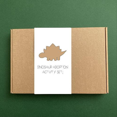 Dinosaur Adoption Activity Set