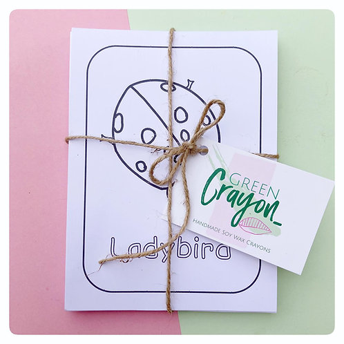 18 Set of Colouring Cards