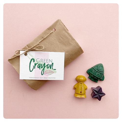 Space Mini Crayon Set