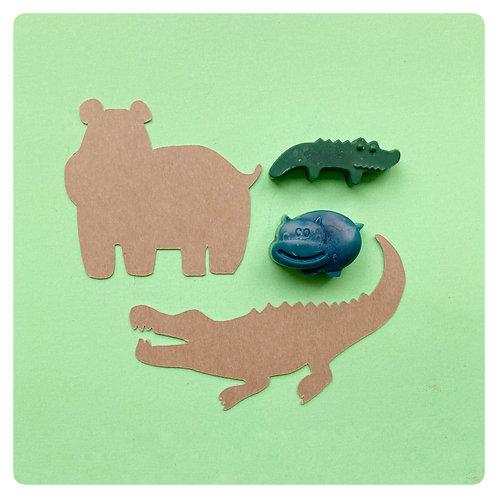 Mini Stencil or Rubbing set
