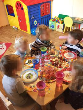 Kindergeburtstag feiern bei Tagesmutter