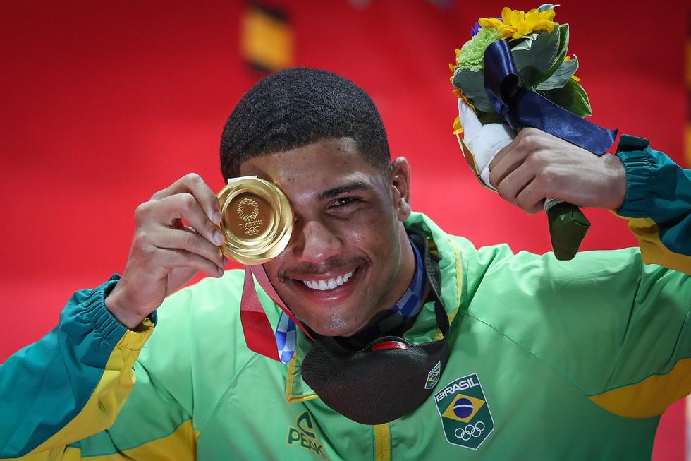 Hebert Conceição — ouro boxe peso médio