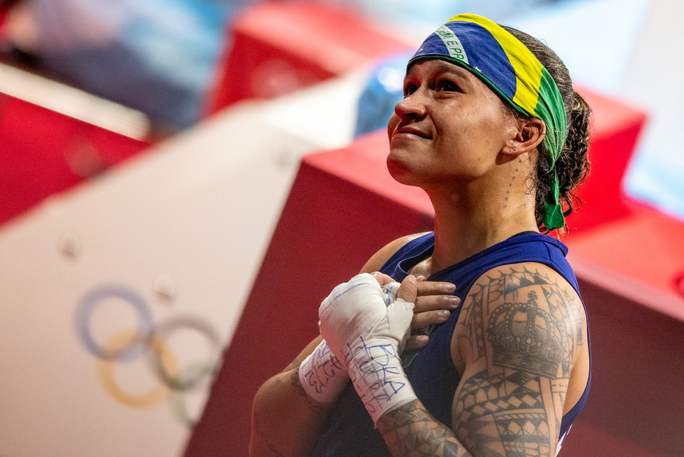 Beatriz Ferreira - prata boxe peso leve