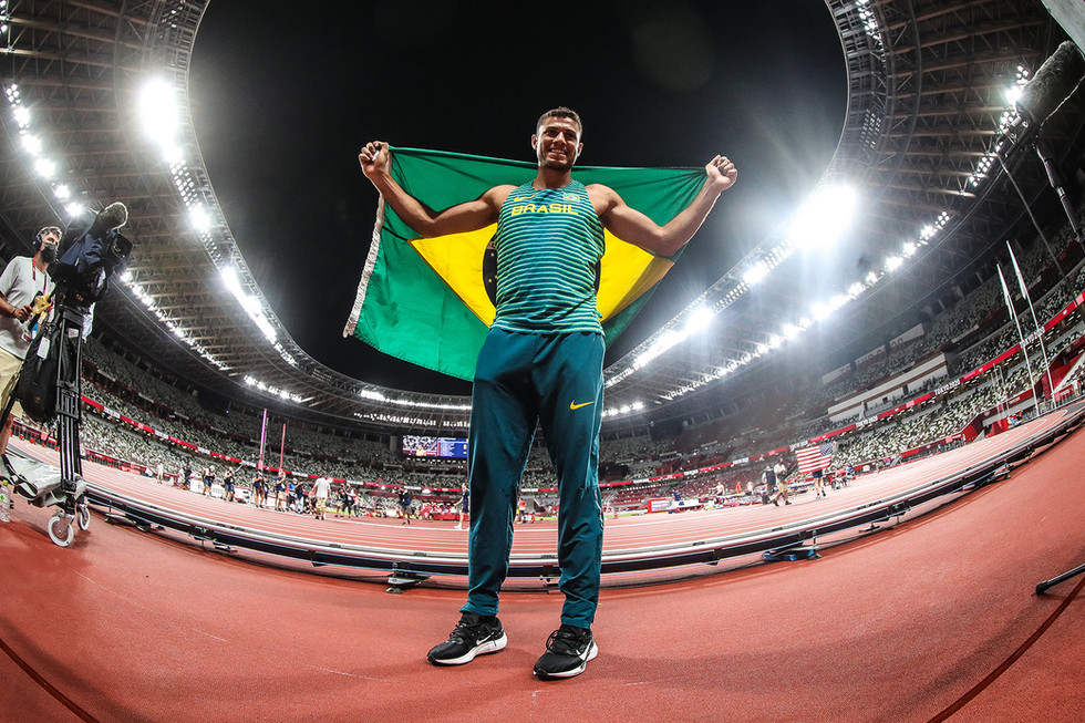 Thiago Braz bronze salto vara