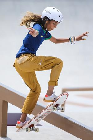 Rayssa Leal —prata Skate street