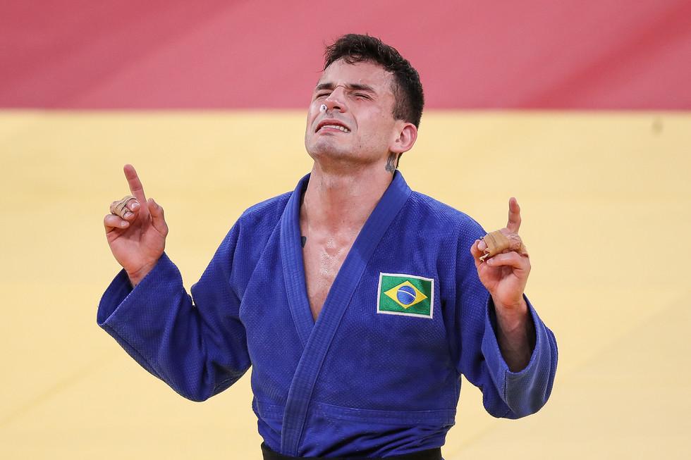 Daniel Cargnin bronze judô até 66kg