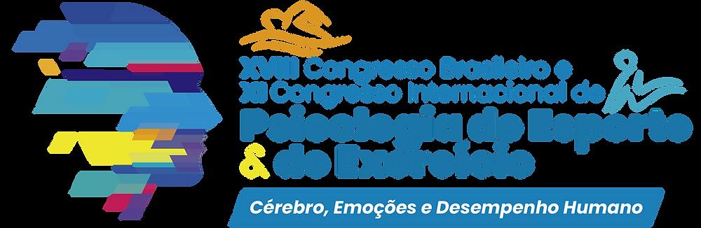 LOGO XVIII E XI CONGRESSO INTERNACIONAL DE PSICOLOGIA DO ESPORTE E DO EXERCICIO