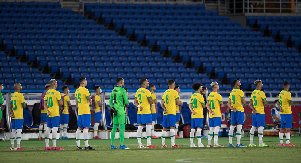 Seleção masculina de futebol - ouro