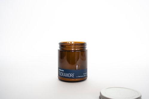 9oz Candle - Amber Glass Jar