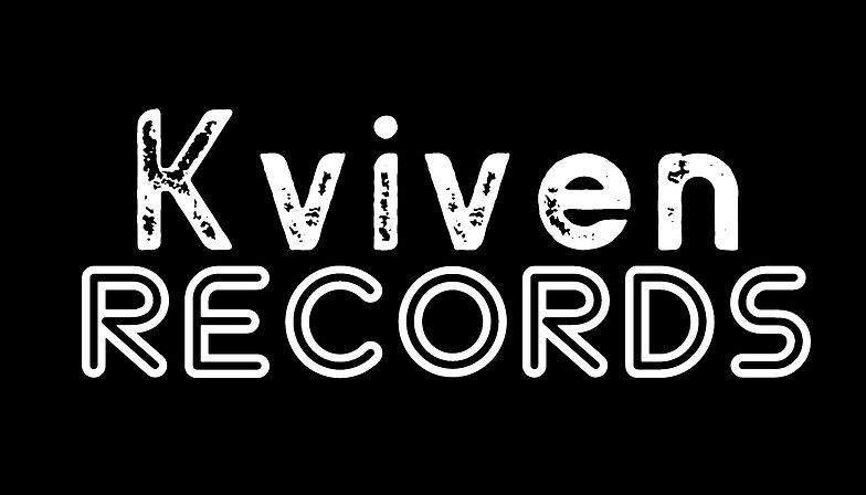 Kviven records-logo, svart bakgrunn.jpg