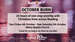 26 hour Burn