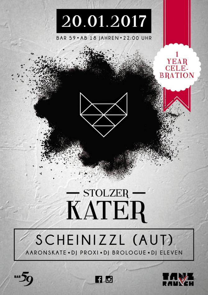 1 Jahr Stolzer Kater, Bar59, Luzern