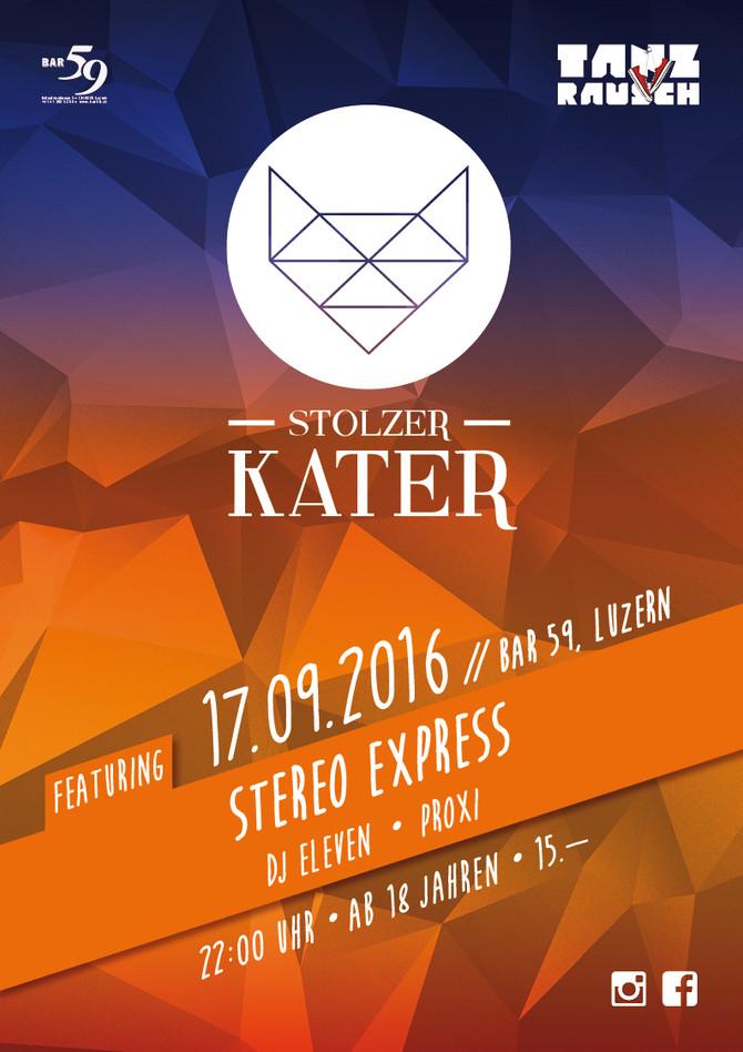 Stolzer Kater, Bar59, Luzern