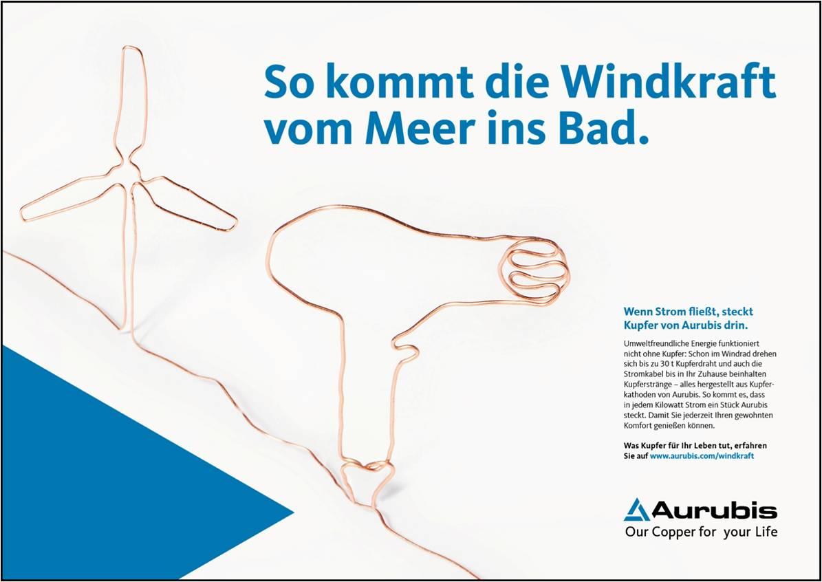 Aurubis Markenkampagne