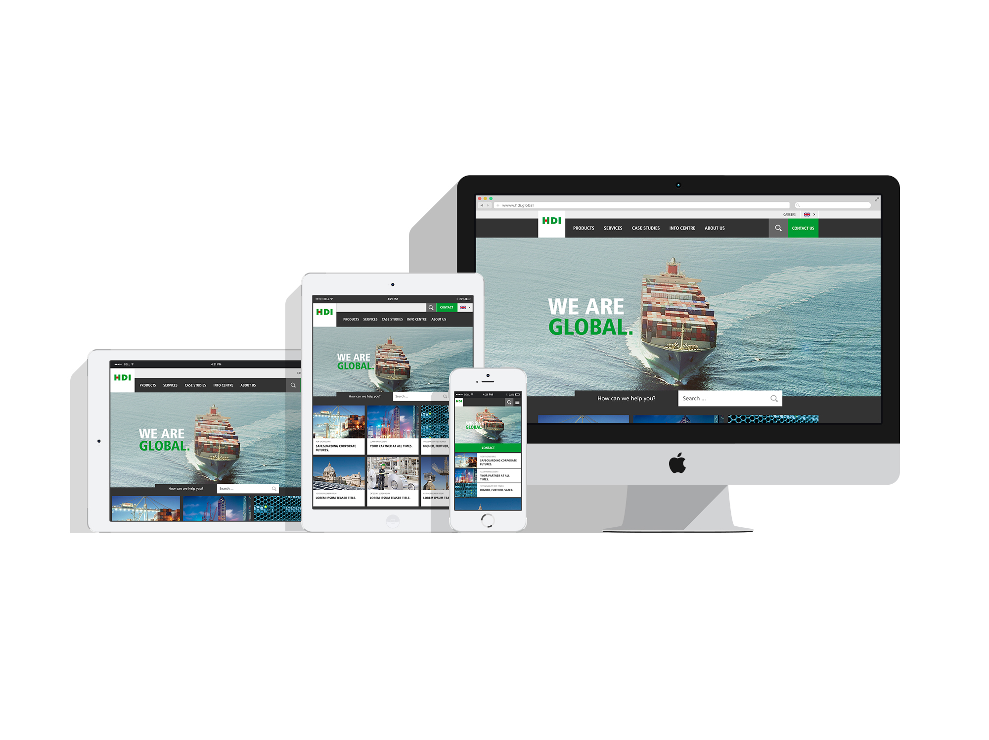 HDI Global Website-Relaunch