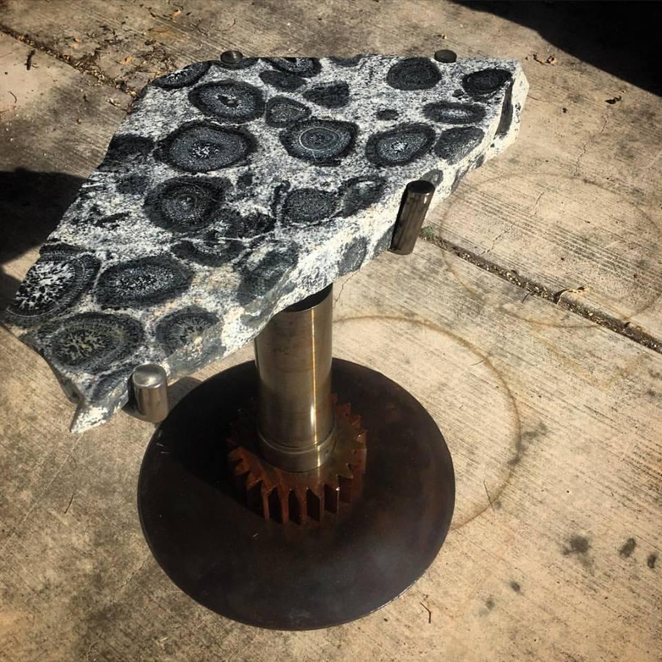 Orbicular Granite Table2