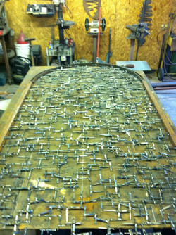 Building a gate out of nails