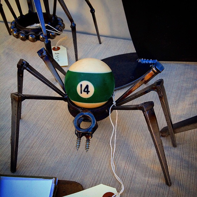 Billiard Ball spider