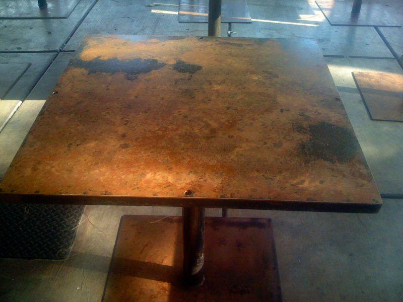 Table at _No Anchovies_